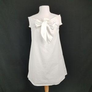 Soprano Shift Mini dress off the shoulder Bows L